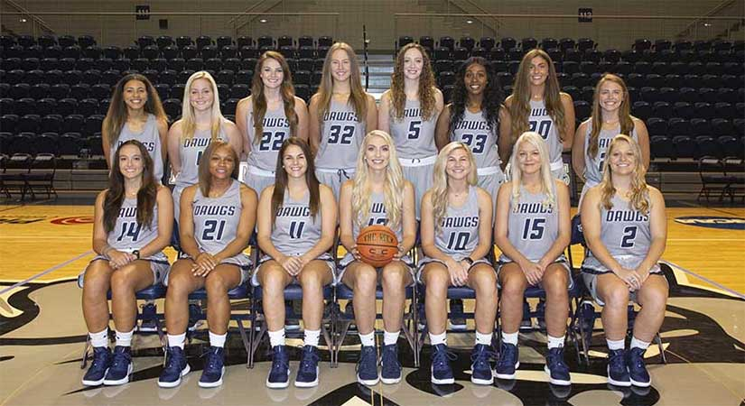 SWOSU Women's Basketball Team