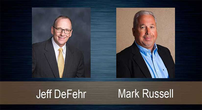 Jeff DeFehr and Mark Russell