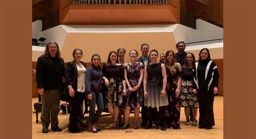 SWOSU Students at Vocal Music State Contest