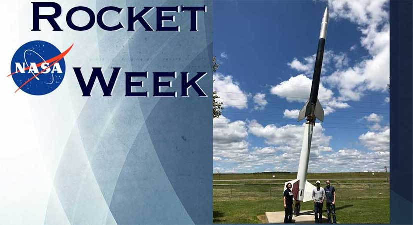 Rocket Week at NASA's Wallops Flight Facility in Virginia