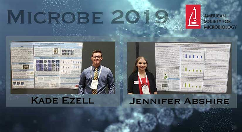 SWOSU Students Present Posters at Microbe 2019