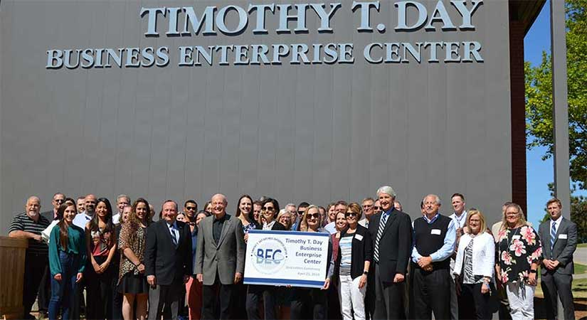 Timothy T. Day Center Dedication