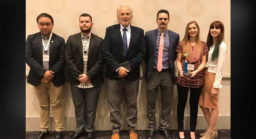 Criminal Justice Student winners